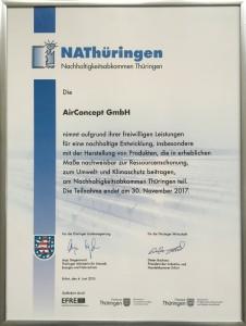 NAT Urkunde 2