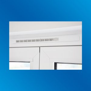 AirTronic Fensterlüfter Innenansicht