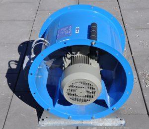 Ventilator für Rauch-Druck-Anlagen