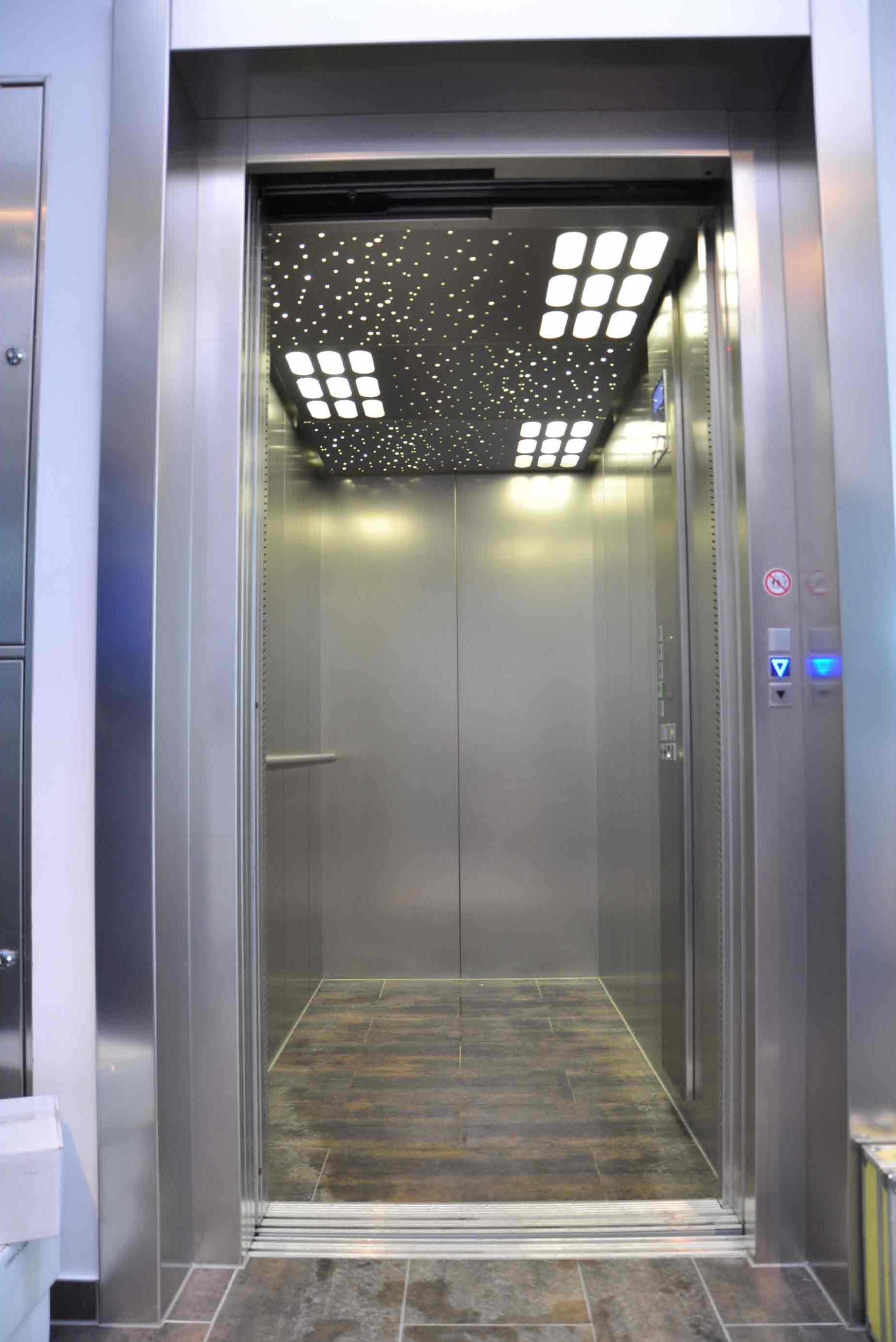 Aufzugs-Schacht-Entrauchung