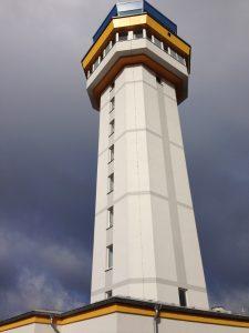 Rauch-Druck-Anlage RDA im Flughafen Tower