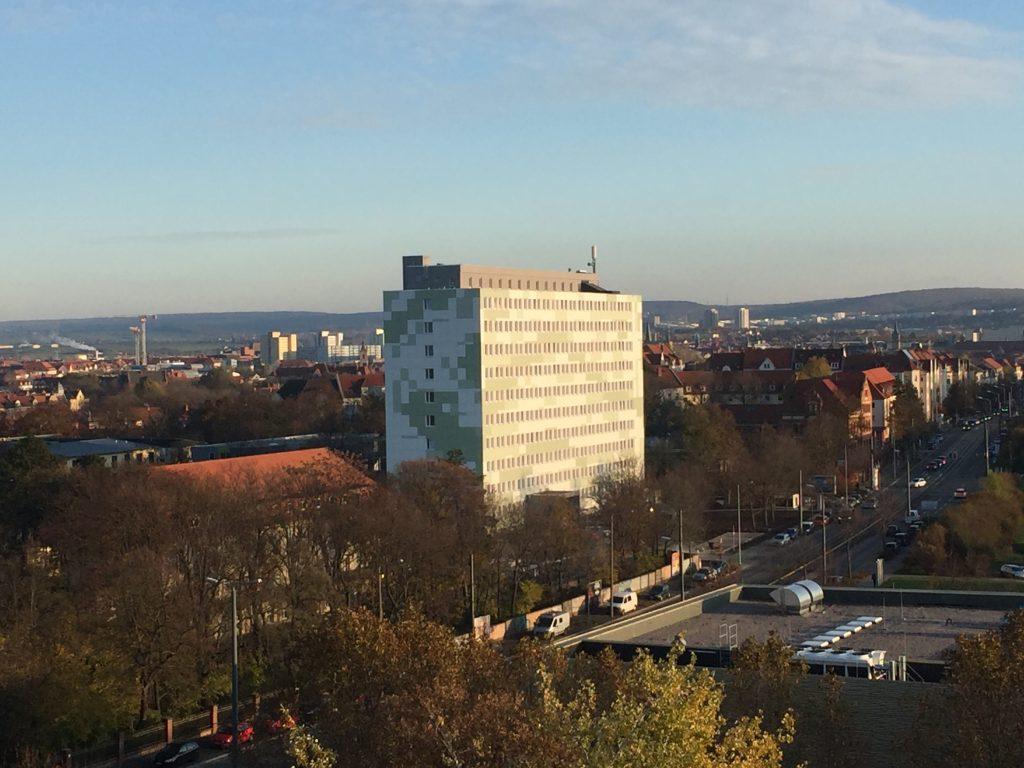 Erfurt – Rauch-Druck-Anlage RDA im Studentenwohnheim